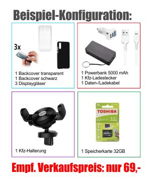 Bestellung Zubehör MEGA-Pack